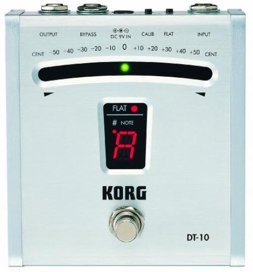 Ha0762 New Korg DT10 Digital Guitar Foot Pedal Tuner Japan Best Deal