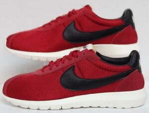 competitive price 8abaa 862d6 Image is loading Nike-Roshe-LD-1000-GYM-Red-Black-Sail-