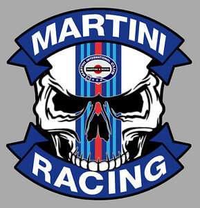 Martini Racing Skull Sticker Uk0iqvro-08004950-275281887