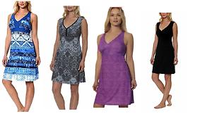 NEW-Gerry-Women-039-s-Sundress-Sleeveless-Racerback-Active-Summer-Dress-VARIETY