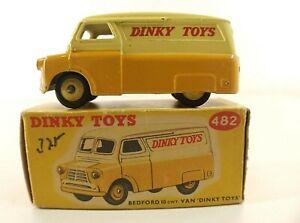 Dinky Toys Gb N° 482 Fourgon Bedford En Boite