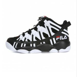 9817ee67eeda FILA SPAGHETTI 95 Men s Basketball Sneakers Shoes - White Black ...