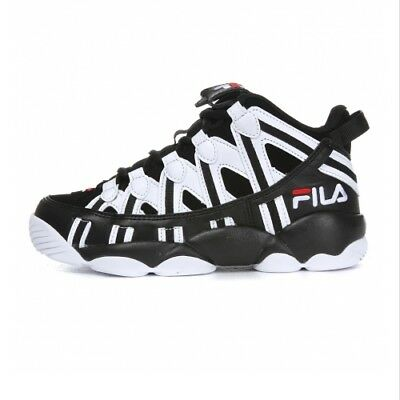 FILA SPAGHETTI 95 Men's Basketball Sneakers Shoes -  White/Black(FS1HTA1013X) | eBay