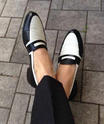 100% Vrai Homme Fait à La Main Chaussures Bicolores Formelle Robe Lacet Spectator Mocassins Casual Nouveau La RéPutation D'Abord