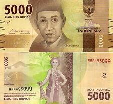 INDONESIA - 5.000 Rupiah 2016 FDS - UNC Serie AAA