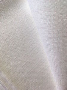 PERLE-neige-28-COMTE-Cashel-toile-50-x-140-cm-Zweigart-point-de-croix-tissu