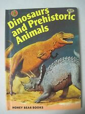 Dinosaurs And Prehistoric Animals 1981 Honey Bear Books Hc T-Rex Vs. Triceratops