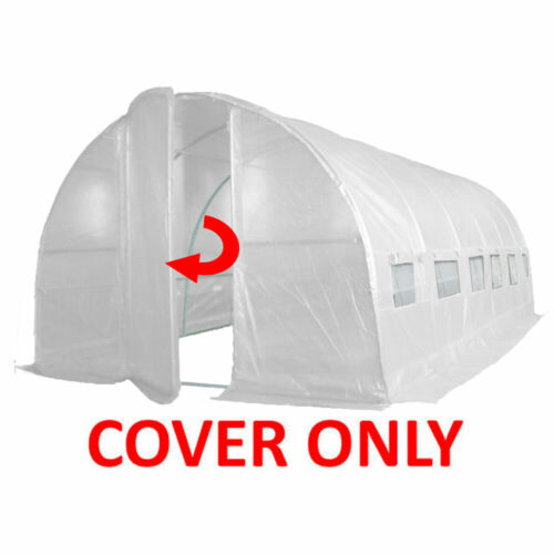 Replacement Cover; 2 Sizes For Our Polytunnel Greenhouse Pollytunnel Poly Tunnel