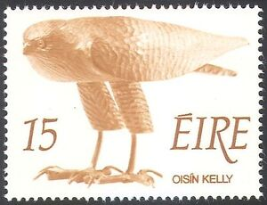 Ireland 1975 Bird of Prey/Raptor/Carving/Contemporary Art 1v (n22975)
