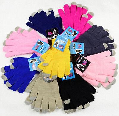 1Pair Touch Screen Gloves Men/Women For Smart Phone Tablet Finger Winter Mittens