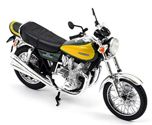 gelb Dark Green Kawasaki Z900 1973 dunkelgrün Yellow 1:18 Norev 182030