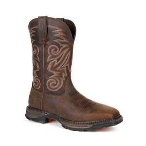 Durango-Maverick-XP-DDB0206-Men-039-s-Steel-Toe-Waterproof-Western-Work-Boots