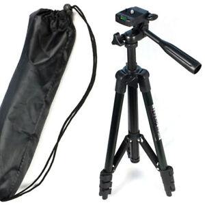 Faltbare-Standplatz-Stativ-Tripod-fuer-Sony-Canon-Nikon-Samsung-Kodak-Kamera