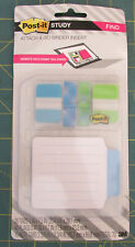 5 Packs Of Post It Study Attach And Go Insert For Spiral Notebooks Or Binders