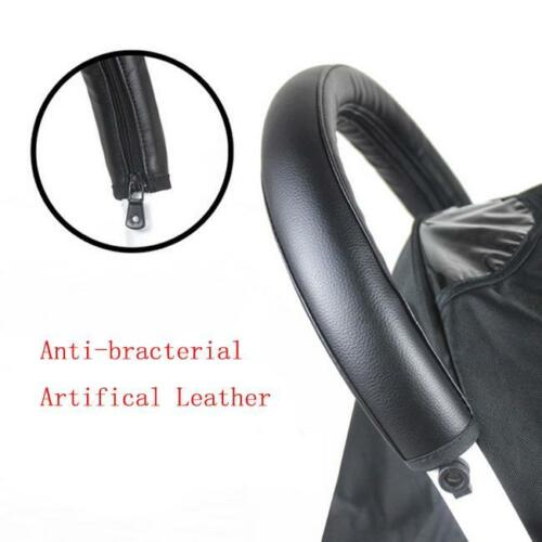 Children Pram Carriage Front Handle Grip Bumper Bar Cover Stroller Supplies 7N