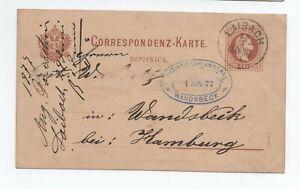 1877 Lettre Autriche Laibach Ljubljana Pour Allemagne A Voir Convient Aux Hommes, Femmes Et Enfants