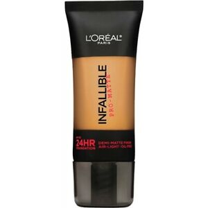 LOREAL-Infallible-Pro-Matte-Demi-Matte-Finish-Foundation-Caramel-108-NEW