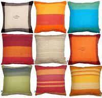 """100% Cotton 16"""" Cushion Cover Pillow Case Sofa Throw Indian Handloom Home Decor"""