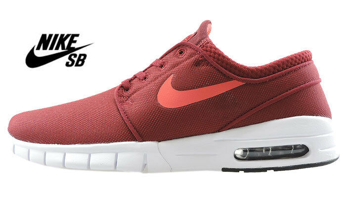 Nike Stefan Janoski Max-Rouge Maille UK 5-