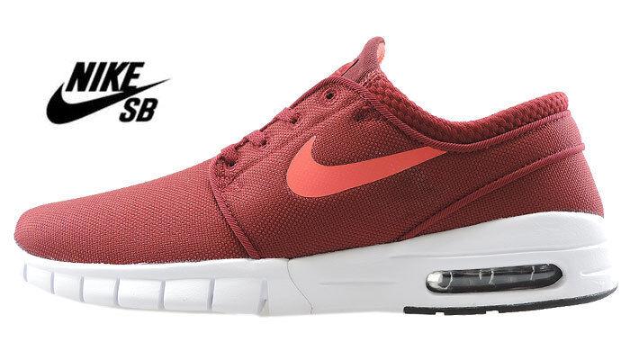 Nike Stefan Janoski Max-Rouge Maille UK 4.5