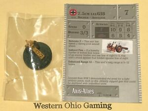 Axis-amp-Allies-Miniatures-North-Africa-7-5cm-LELG18-31-60-NEW-A-amp-A
