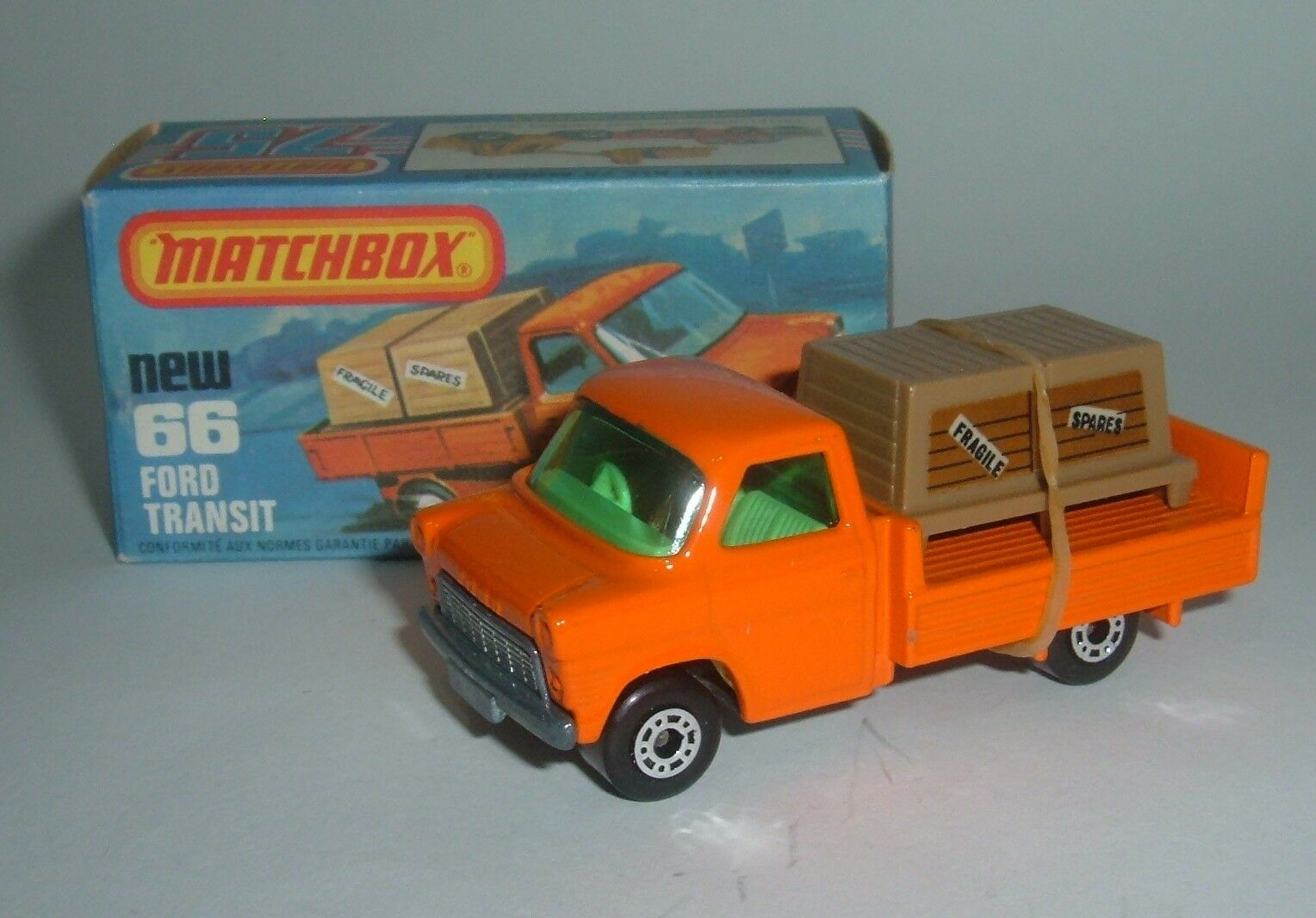 Matchbox Superfast No. 66, Ford Transit, - - - Superb Mint. 9f5c2c