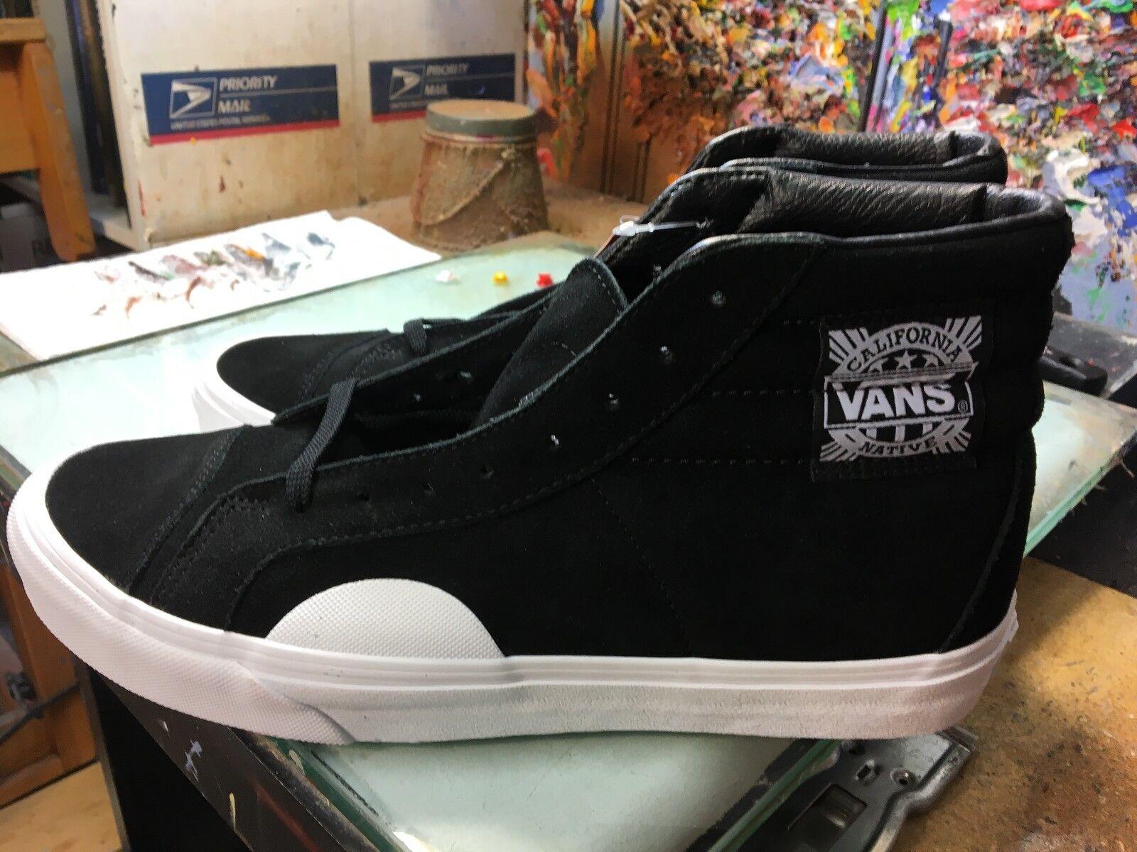 Vans (Style 238) Native Suede Black  NIB Size US 11 Men's VN0A3JFIQXP