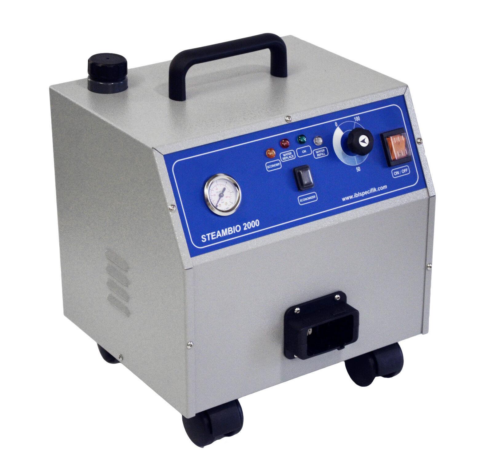 Nettoyeur vapeur Ménager Steambio 2000 métal