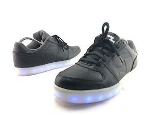 Details about Skechers Energy Lights Men's Black Lace Up Light Up Sneakers US 10 Shoes C607