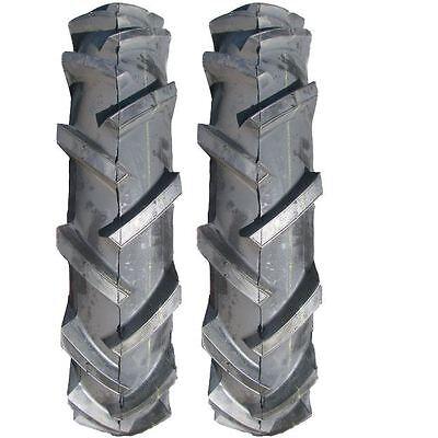 Two New 4.00-8 Deestone 4 ply Wheel Horse Lawn Garden Tractor Lug 4.80-8 Tires