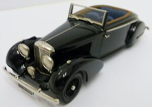 Lansdowne Ldm81a 1936 Bentley 4,25 litres. 1:43 Métal Blanc