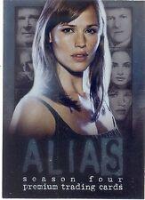 ALIAS SEASON 4 2005 INKWORKS SAN DIEGO COMIC CON PROMO CARD PSD JENNIFER GARNER