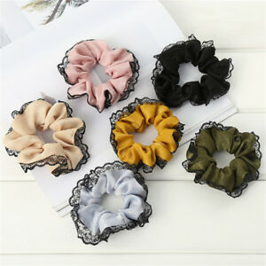 Fashion-Lace-Hair-Rope-Ring-Women-Ponytail-Holder-Scrunchie-Hair-Accessories-Hot