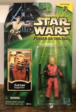 Hasbro Star Wars 2001 Power Of The Jedi - Zutton Snaggletooth Action Figure