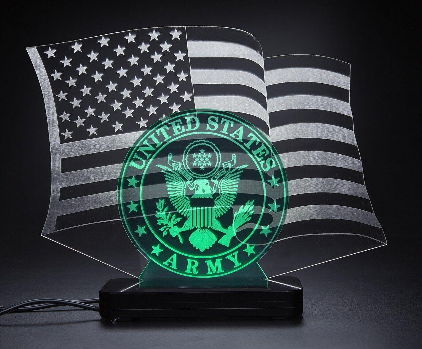 United States ARMY, LED Bar Desktop Lamp
