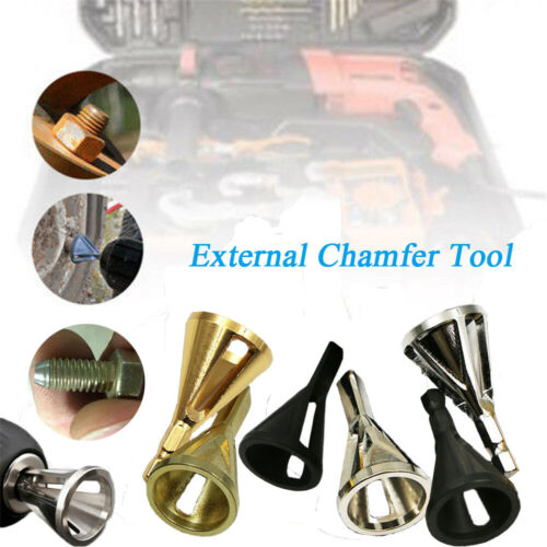 Damaged Bolts TOP Deburring Drill Remove Burr Tools External Chamfer Bit