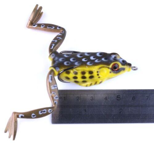 Spinning Frosch Frog Gummifrosch Wobbler Hecht Zander Wels Raubfisch Kunst Köder