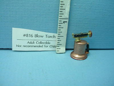 Miniature Blow Torch #816 Sir Thomas Thumb 1//12th Scale Painted Metal