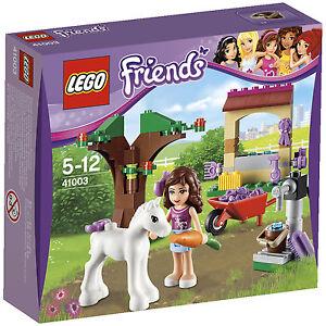 Lego-Friends-41003-OLIVIA-039-s-NEWBORN-FOAL-Olivia-Minifigs-NISB-Xmas-Present-Gift