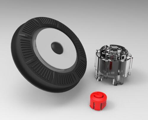Raymarine E90w E120w E140w Rotary Dial UniController Grey w// actuators /& power