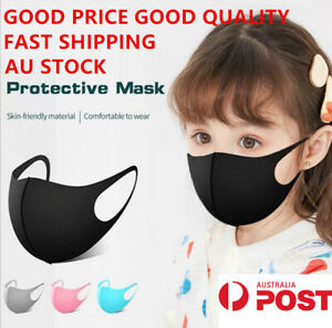 Fast Shipping Kids Mask Washable Face Mask Mouth Masks Protective Reusable Ebay