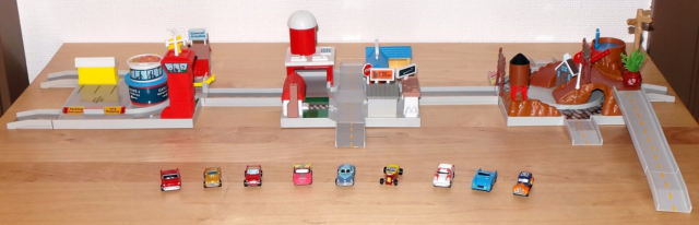 MicroMachine Hiways & Byways Playset, Lewis Galoob…