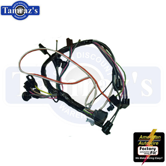 69 camaro console wiring harness with auto transmission & factory gm wiring harness 69 camaro console wiring harness with auto transmission & factory console gauges