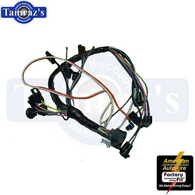69 camaro console wiring harness with auto transmission