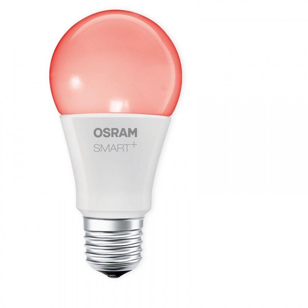OSRAM SMART+ LED RGBW E27 10W 60W RGB dimmbar Apple HomeKit Siri iOS kompatibel
