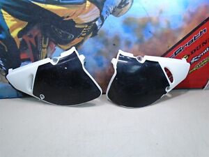 1993 SUZUKI RM 125 SIDE NUMBER PANELS PLATES (A) 93 RM125