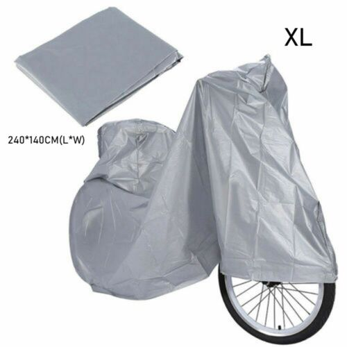 Waterproof Bicycle Cover Rain/&Dust Proof Covers Sunshine Prevent UV Protector