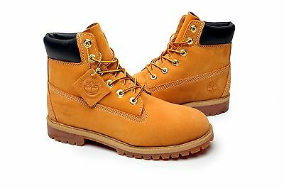 Timberland Youth Boots GS Premium 6 Inch 12909 Wheat Black Orange Purple Brown