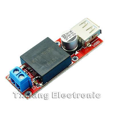 2PCS 5V USB DC 7V-24V to 5V 3A Step Down Buck KIS3R33S Module Arduino LM2596