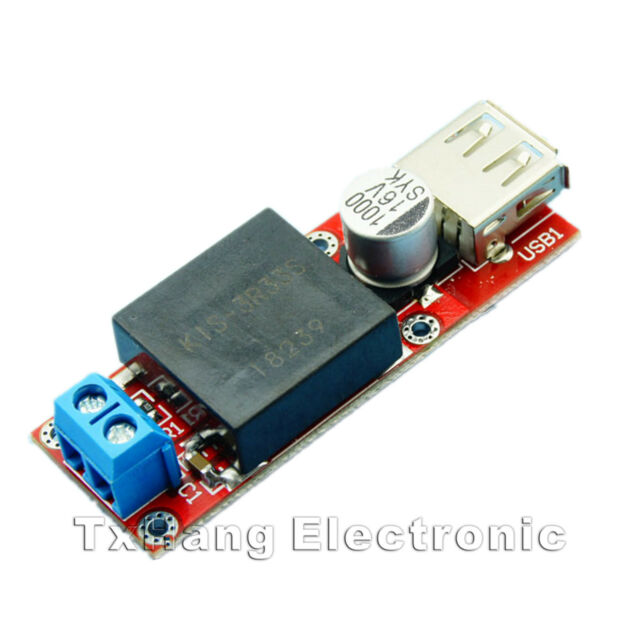 5V USB DC 7V-24V to 5V 3A Step Down Buck KIS3R33S Module Arduino than LM2596